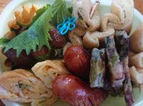 海鮮香るタコチヂミ弁当